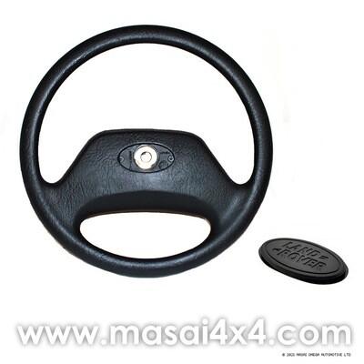 OEM Steering Wheel Replacement for Defender (48 Spline) with Badge
