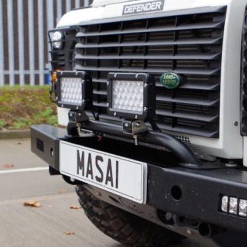 Bumper Light Bar for Land Rover Defenders (Mount Lights)
