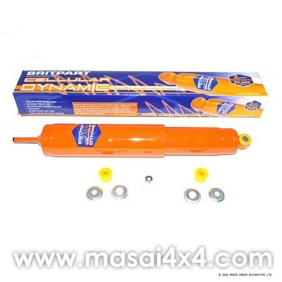 Steering Damper - Cellular Dynamic for Defender (Orange)