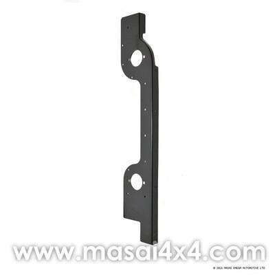 Rear Corner Capping in Black Primer for Defender 90/110 (LH + RH)