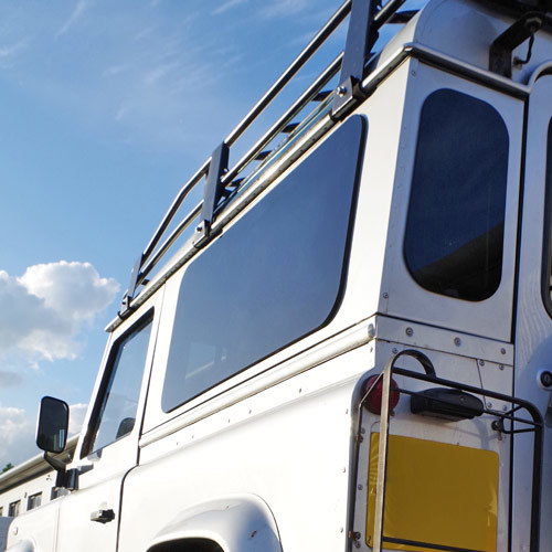 Masai Zeppelin Dark Tinted Windows for Land Rover Defender 90 / 110