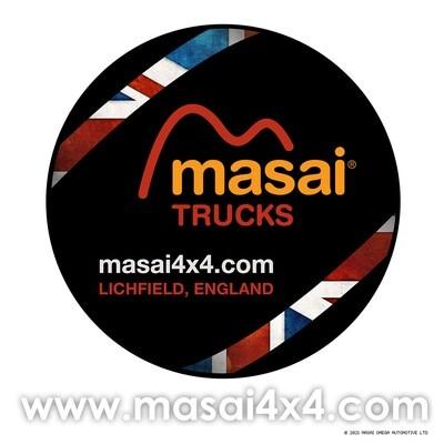 Spare Wheel Cover - Masai Design 2021 - Hard Shell Version - Fits 16