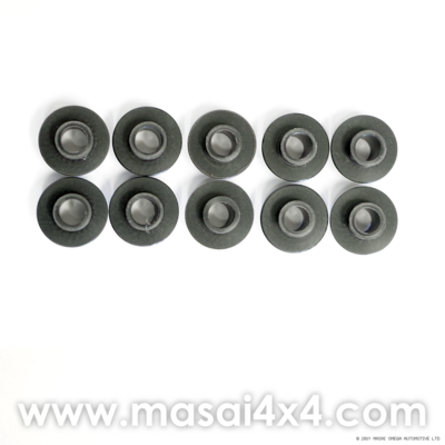 Set of 10 Interior Trim Fitting Spacers for TD5 with Inward Facing Seats