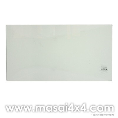Windscreen Glass for Land Rover Series 2 & 3 - Laminated, Unheated (5% Green)