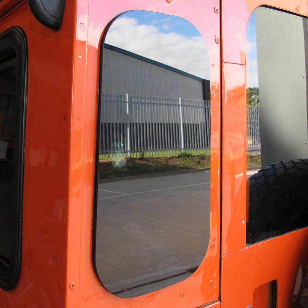 Masai Zeppelin Tinted Rear Quarter Glass Windows for Land Rover Defender (PAIR)