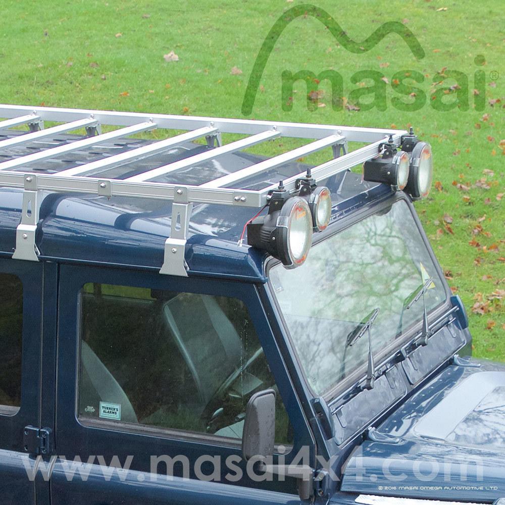 Aluminium Flat Roof Rack for Land Rover Defender 90 / 110 / Crew Cab