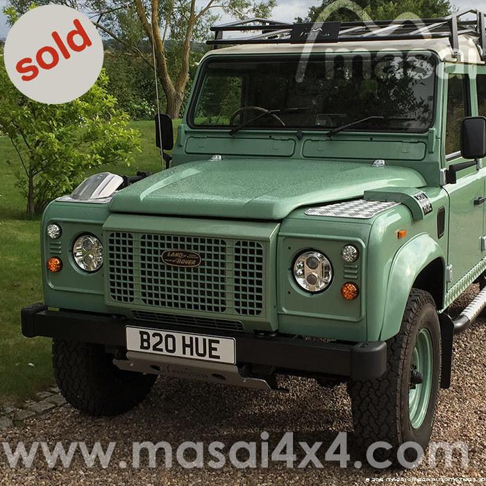 Land Rover Defender 200 tdi Heritage - Restoration Project