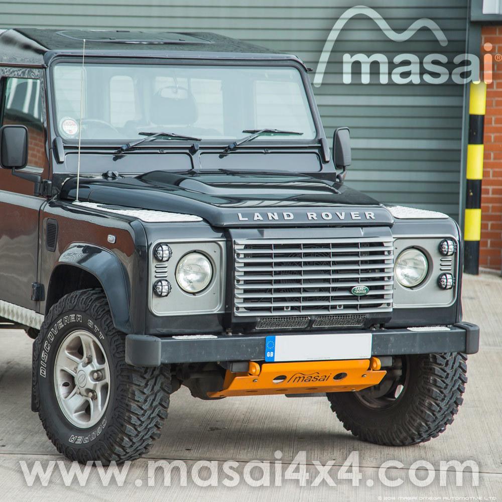 Puma Bonnet for Land Rover Defender - Genuine LR (Special Order Item)