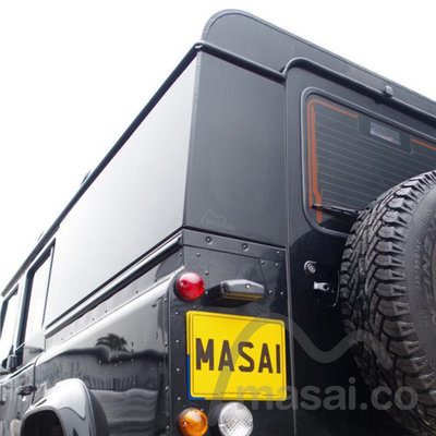 Fixed Masai Panoramic Tinted Windows for Land Rover Defender 110 4-Door - (ON BACKORDER, SEE DESCRIPTION)
