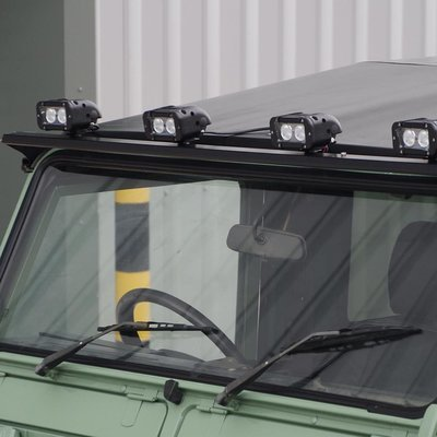 Aluminium Roof Light Bar For Defenders 90, 110 and 130