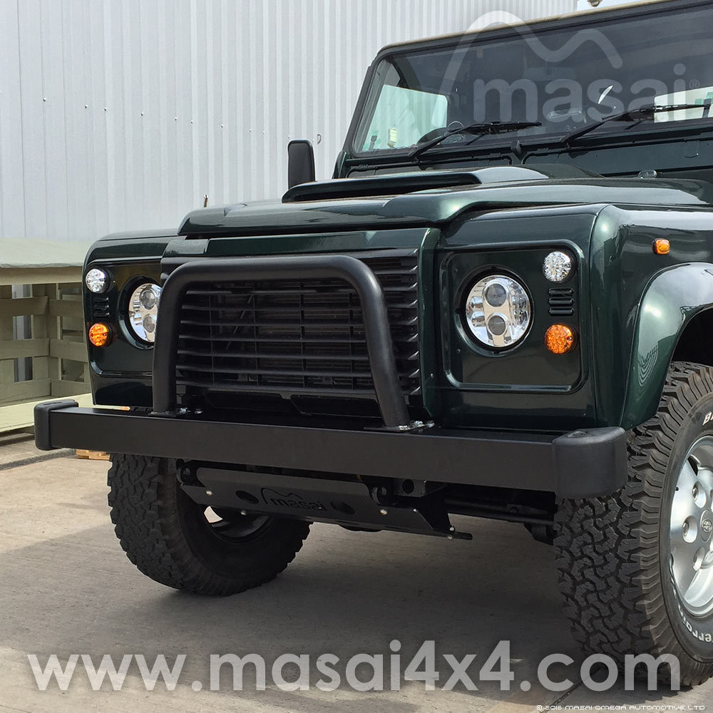 Nudge Bar (A Bar / A Frame) for Off-roading Land Rover Defenders