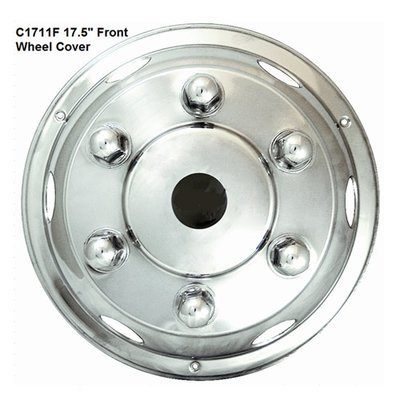 Stainless Steel HGV Wheel Trims / Covers / Liners, 17.5