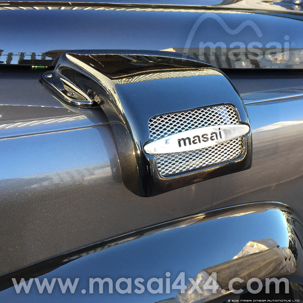 Air Intake Cover / Snow Cover for Land Rover Defenders (Masai Design) - Style 3