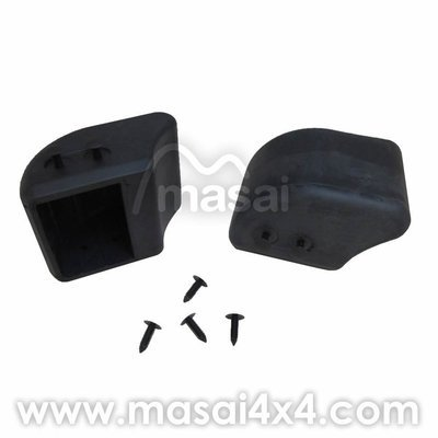 Defender Bumper Rubber End Caps - DPT100070