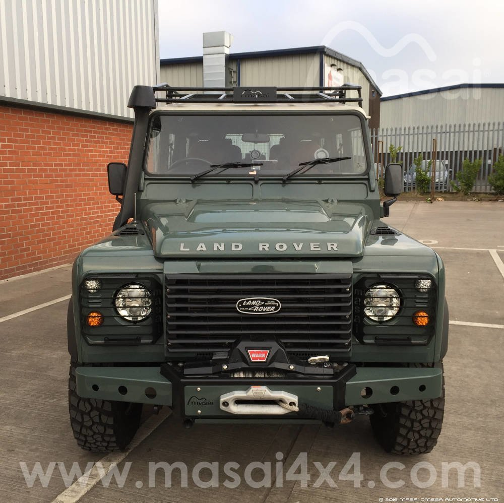 2008 Land Rover Defender Puma TDCi - Keswick Green (NO VAT)