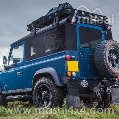 Sliding Masai Panoramic Tinted Windows for Land Rover Defender 90 - (ON BACKORDER, SEE DESCRIPTION)