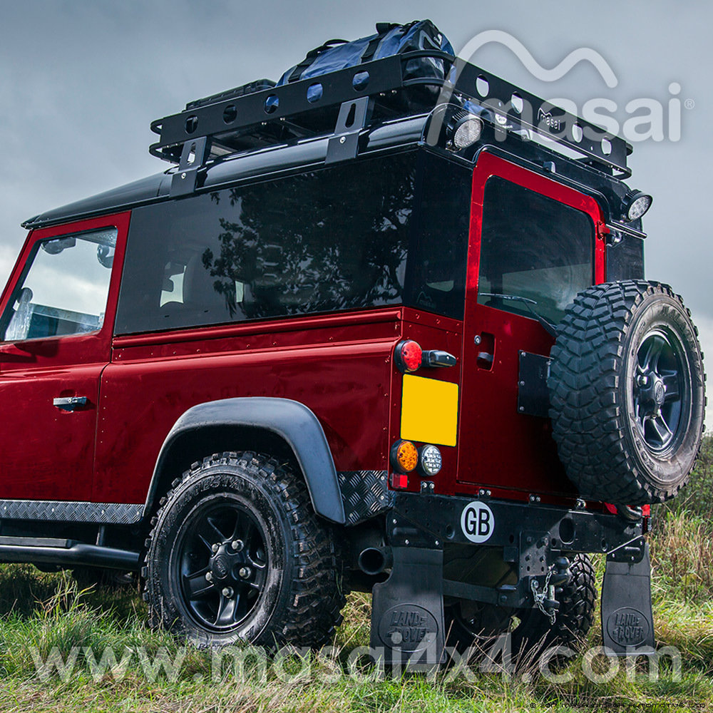 Fixed Masai Panoramic Tinted Windows for Land Rover Defender 90