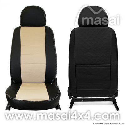 Seat Covers for Land Rover Defender 90/110 (Puma/TDCi - 2007-2016) DELUXE