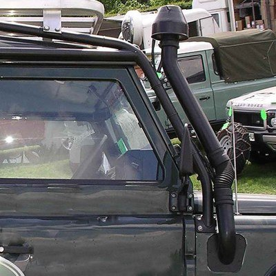 Snorkel Kit/Raised Air Intake (Roll Cage Version) for Land Rover Defender