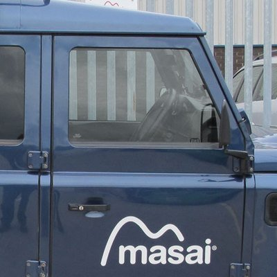 Front Door Glass for Land Rover Defender 110, 90 and 130