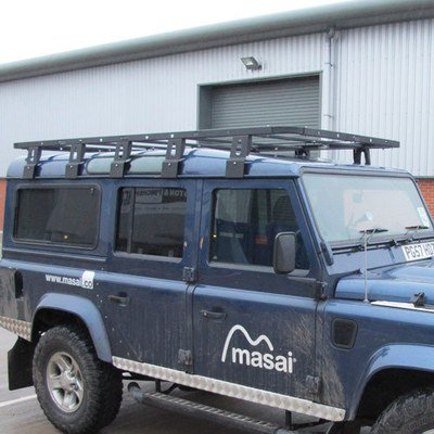 Flat Roof Racks for Land Rover Defender 90 and 110 - 3 Sizes