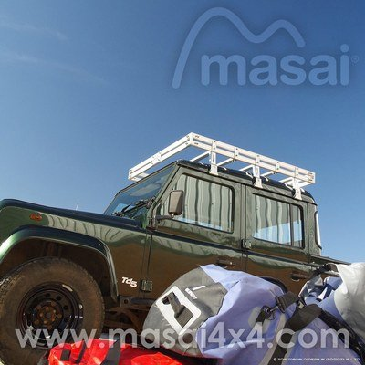 Aluminium Luggage Roof Rack for Land Rover Defender
