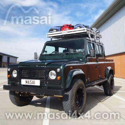 Aluminium Open End Luggage Roof Rack for Land Rover Defender