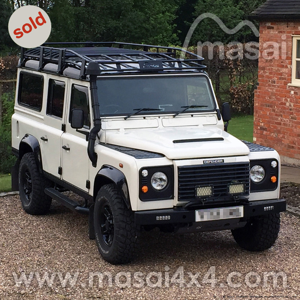2005 Land Rover Defender 110 2.5 TD5 - Chawton White - SOLD