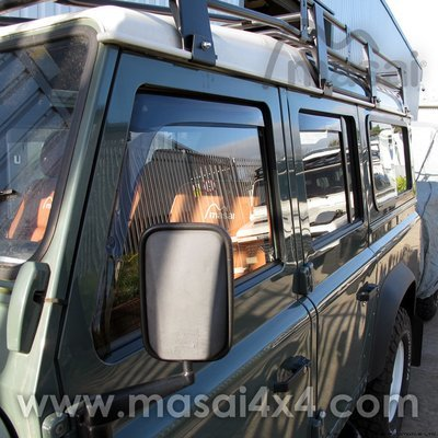 ClimAir Wind and Rain Deflectors for Land Rover Defender 90/110 PAIR