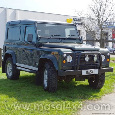 2002 Land Rover Defender 90 County TD5 2.5ltr - Epsom Green LOW MILEAGE (SOLD)