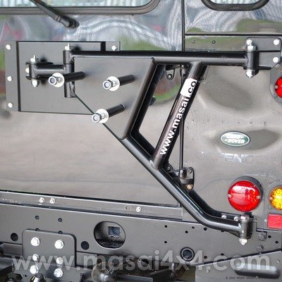 Spare Wheel Carrier - Extra Heavy Duty, Chassis Mounted for Land Rover Defender / Series 3