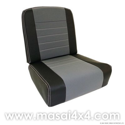 Inward Facing, Tip up Seat Cover for Land Rover Defender (89' - 07' Models) - PAIR