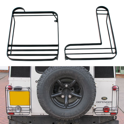 Rear Lamp Guards for Land Rover Defender (Left/Right or PAIR)