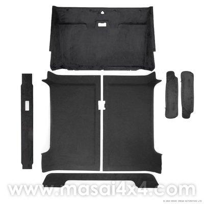 Headlining / Rooflining Kit for Land Rover Defender 90 (5pc Kit)