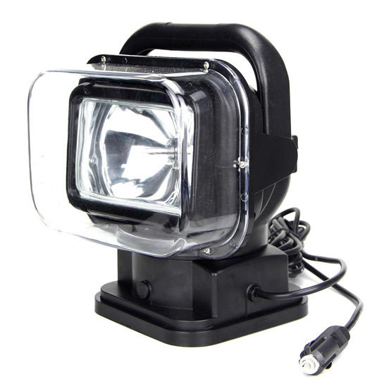 75 Watts - Remote Controlled HID Spot Light with Magnetic Base