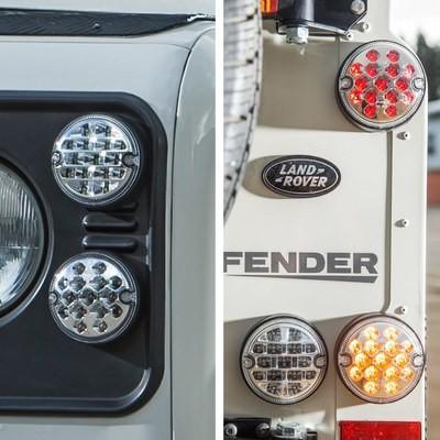 NAS style LED Lights Upgrade Kit for Land Rover Defender (95mm) - 11pcs
