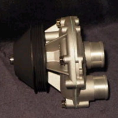 XJS and XJ6 Jaguar Water Pump - EBC10566-EBC10967 (includes backplate)
