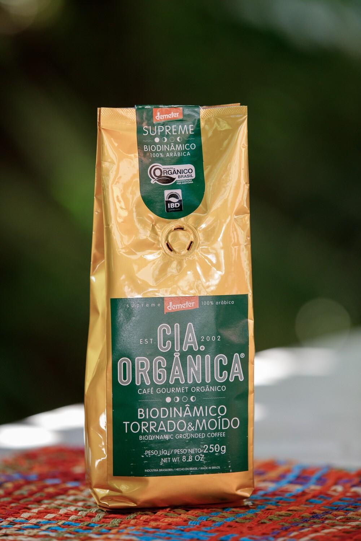Café Gourmet Orgânico Biodinâmico Torrado e Moído – Cia. Orgânica