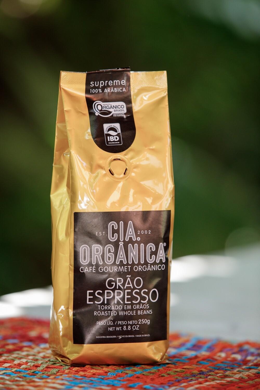 Café Gourmet Orgânico Grão Espresso – Cia. Orgânica