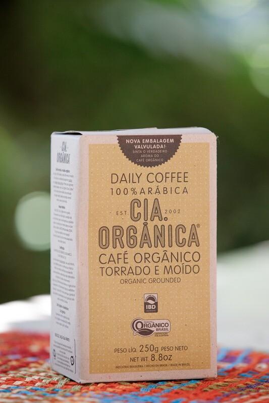 Café Orgânico Torrado e Moído – Daily Coffee 100% Arábica – Cia. Orgânica