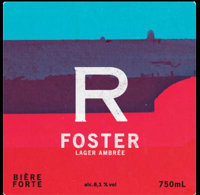 Foster - Bouteille de 750mL