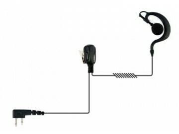 Auricular com PTT - Tipo G