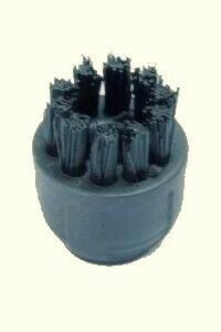 Nylon borstel Zwart (3 cm)