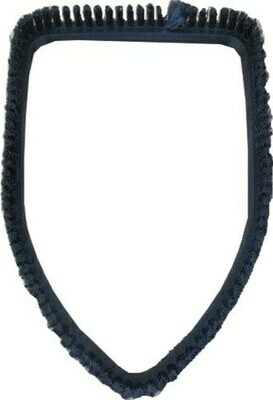 Driehoekborstel stoomstofzuig (Nylon haren)