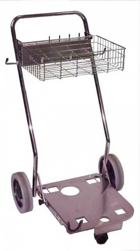 Trolley t.b.v. stoomstofzuiger huishoudelijke lijn
