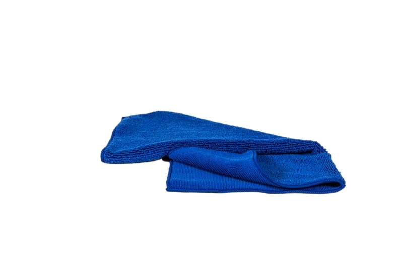 Microvezeldoek dik 420 gram 40 x 40 cm donker blauw