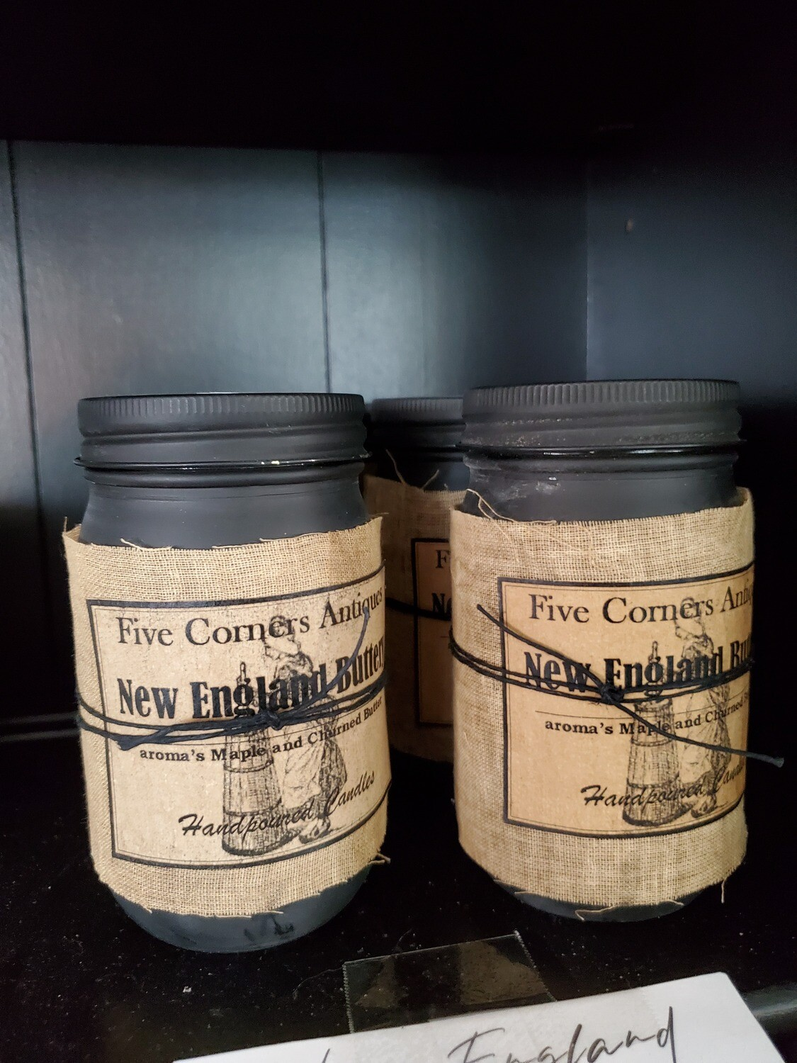 New England Buttery Soy Candle