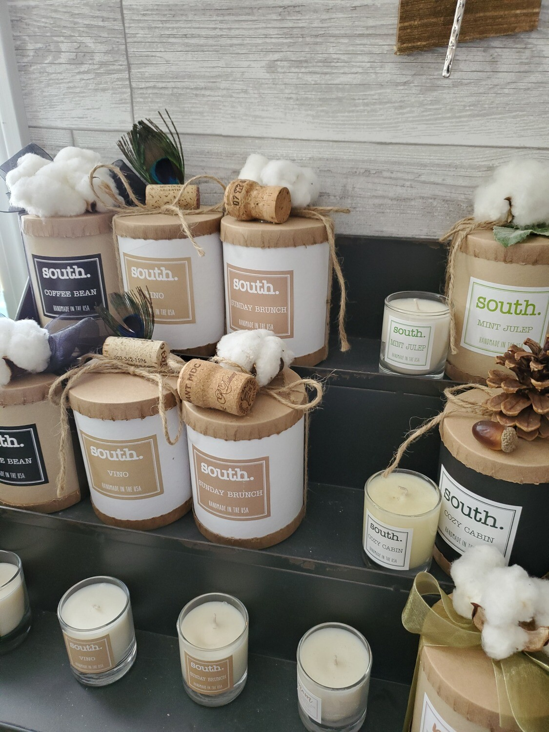 North & South Soy Candles