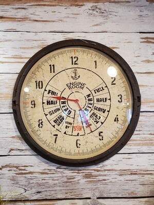 Engine Room Theme Decorative Wall Clock