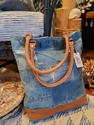 Denim Canvas Bags